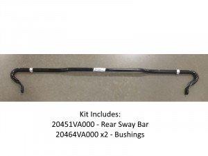 Subaru Rear Sway Bar Kit - 20mm